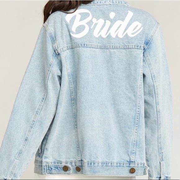 "Show Me Your MuMu Jackets & Blazers - Show me your MuMu denim ""bride"" jacket"